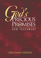 KJV God's Precious Promises New Testament Burgundy Paperback
