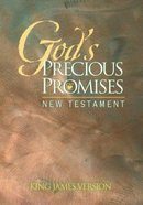 KJV God's Precious Promises New Testament Green Paperback