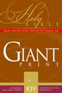 KJV Giant Print Handy Size Burgundy
