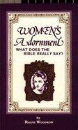 Women's Adornment Paperback