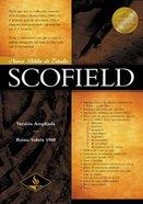 Nueva Biblia Estudio Scofield Rvr (Red Letter Edition) (New Scofield Study Bible) Hardback