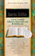 Spanish Special Reference Large Print Black Indexed (Red Letter Edition) Bonded Leather
