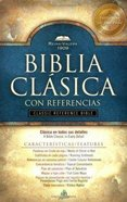 Santa Biblia Reina-Valera 1909 Referencias Negro Spanish Reina-Valera Translation Reference Black Bonded Leather