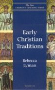 Early Christian Traditions Paperback