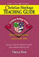 Chicago Years (Christian Heritage Teacher's Guide Series) Paperback