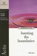 Acts (6 Sessions, Advanced) (Study Guide) (Part 2) (Word Alive Guide Series) Paperback
