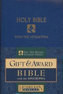 NRSV Gift & Award Bible With Apocrypha Blue Imitation Leather