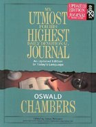 My Utmost For His Highest (Devotional Journal) Bonded Leather