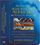 The Complete Personalized Promise Bible on Financial Increase Paperback