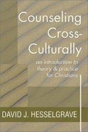 Counseling Cross Culturally Paperback