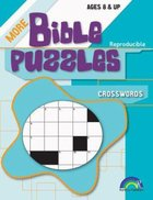 Crosswords (More Bible Puzzles Series) Paperback