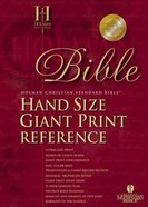 HCSB Hand Size Giant Print Reference Black Imitation Leather