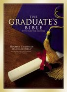 HCSB Graduate' Bible Burgundy (Red Letter Edition) Bonded Leather