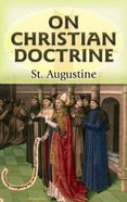 On Christian Doctrine Paperback