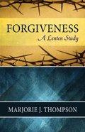 Forgiveness Paperback