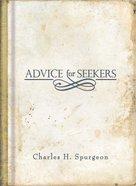 Advice For Seekers Hardback