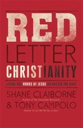 Red Letter Christianity Paperback
