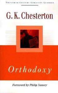 Tccc: Orthodoxy