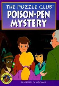 Poisen-Pen Mystery (#04 in Puzzle Club Mysteries Series)