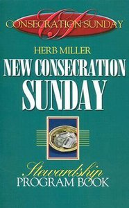 New Consecration Sunday Stewardship Program Book
