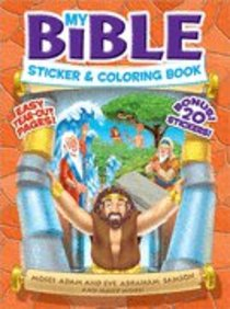 My Bible Sticker & Coloring Book