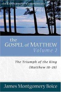 Gospel of Matthew (Volume 2) (Expositional Commentary Series)