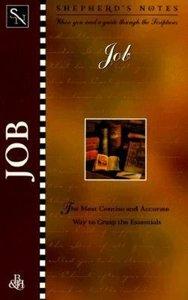 Job (Shepherds Notes Series)