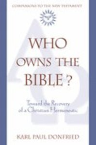 Who Owns Bible
