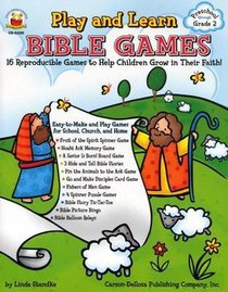 Play and Learn Bible Games (Reproducible)