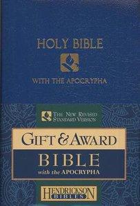 NRSV Gift & Award Bible With Apocrypha Blue