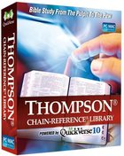 Quickverse 10 Thompson Chain Reference Library (2012 Release)