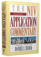 Deuteronomy (Niv Application Commentary Series) Hardback