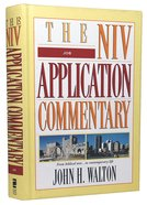 Job (Niv Application Commentary Series) Hardback