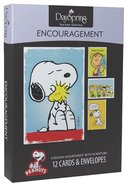 Boxed Cards Encouragement: Peanuts