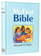 My First Bible in Pictures (Blue) Hardback
