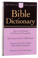 Bible Dictionary (Nelson Pocket Reference Series) Paperback