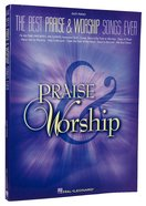 Best Praise and Worship Songs Ever, the (Music Book) (Easy Piano) Paperback
