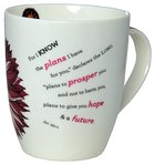 Ceramic Mug: I Know the Plans Jer 29:11 (355ml) Homeware