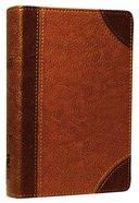 NIV Pocket Bible Brown Duo-Tone
