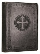 NIV Pocket Bible Grey Cross Imitation Leather