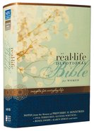 NIV Real-Life Devotional Bible For Women (Black Letter Edition) Hardback