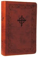 NIV Teen Study Bible Compact Sienna Circles Imitation Leather