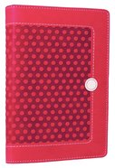 NIV Backpack Zipper Bible Hot Pink Duo-Tone (Red Letter Edition)