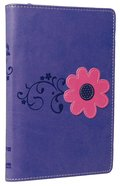 NIV Backpack Zipper Bible Pretty Purple Duo-Tone (Red Letter Edition) Imitation Leather