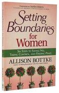 Setting Boundaries For Women Paperback
