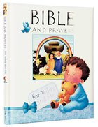 Bible and Prayers For Teddy and Me (Blue) Padded Hardback