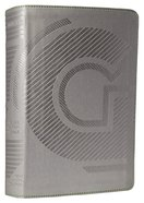 NLT Guys Life Application Study Bible Iridium (Black Letter Edition) Imitation Leather