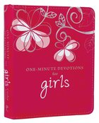 One Minute Devotions: For Girls Pink Luxleather
