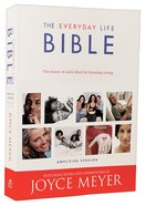 The Amplified Joyce Meyer Everyday Life Bible