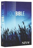 NIV Outreach Bible Blue Wheat Cover Paperback
